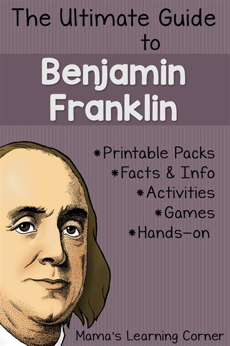 The Ultimate Guide To Resources by The Ultimate Guide To Studying Benjamin Franklin Unit