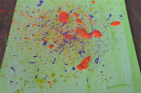 how to splatter acrylic paint on a canvas what types of paint brushes are right for you