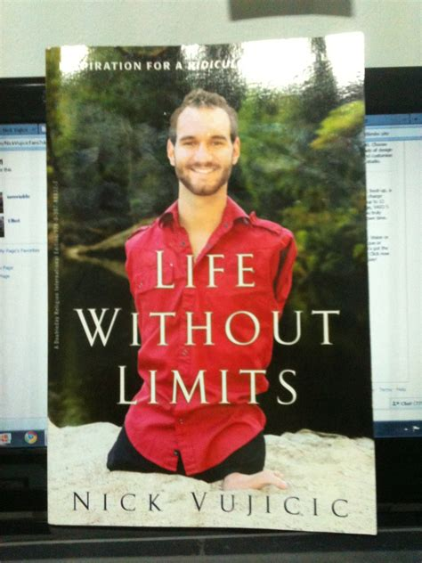 nick vujicic biography book life without limits was written by nick vujucic who was