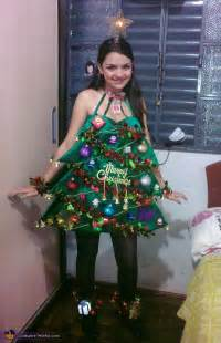 christmas tree costume inspired by katy perry