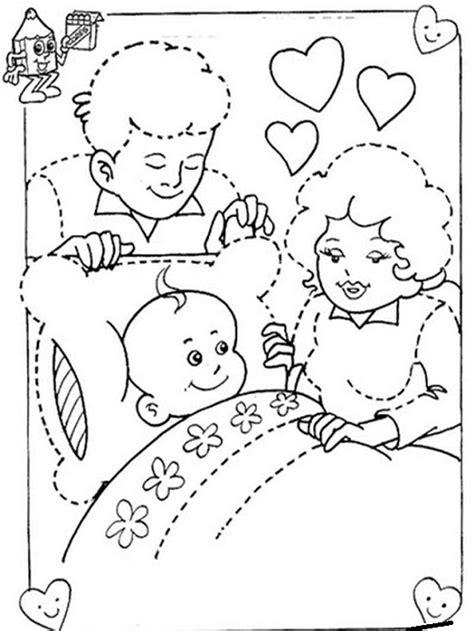 imagenes de la familia para imprimir im 225 genes del d 237 a de la familia para pintar colorear e