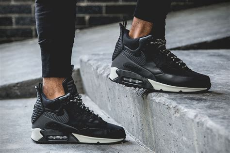 nike air max 90 sneakerboot black reflective hiconsumption