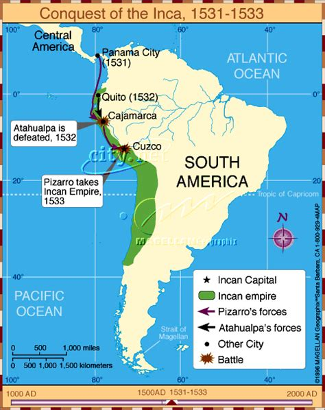 inca map of south america ancient
