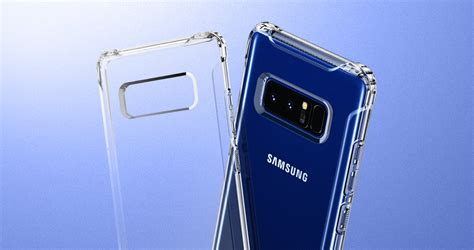 Spigen Rugged Clear For Samsung Note 8 Original jual spigen rugged casing for samsung galaxy note8