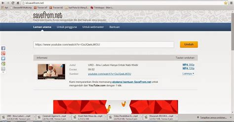 download youtube selain savefrom macam macam cerita how to download video from youtube