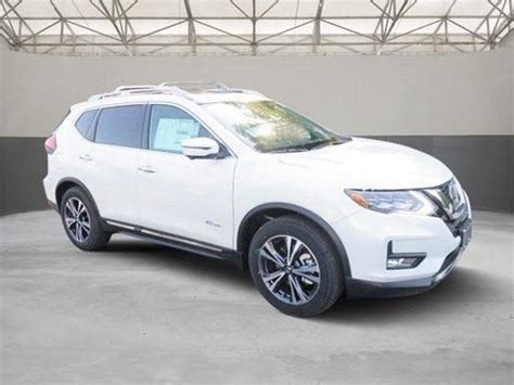 nissan rogue sport 2017 white 2017 nissan rogue sl hybrid 10 pearl white sport