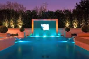 Zen Living Room 20 Exquisite Waterfalls Designs For Pools Inground