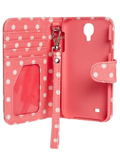 Hardcase Cathkidston Samsung S4 pink cath kidston pink spot galaxy samsung galaxy s4 phone at asos