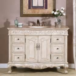 white bathroom vanity with sink shop silkroad exclusive ella antique white undermount