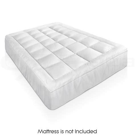 Mattress Retardant by Luxury Pillowtop Mattress Topper Memory Resistant Protect