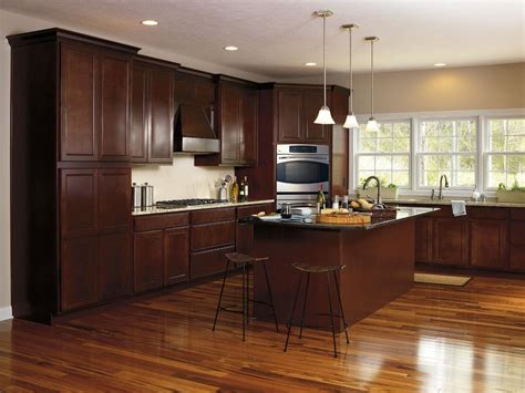 best paint color for kitchen with dark cabinets best kitchen paint colors with dark cabinets all about