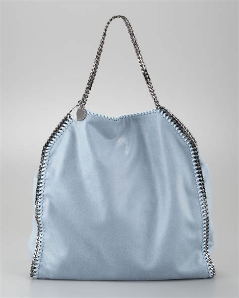 Purse Deal Stella Mccartney Designer Tote by Stella Mccartney Falabella Tote Bag Duck Blue In Blue Lyst
