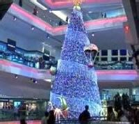 fiber optic christmas in divisoria mall largest fiber optic tree hong kong mall set world record