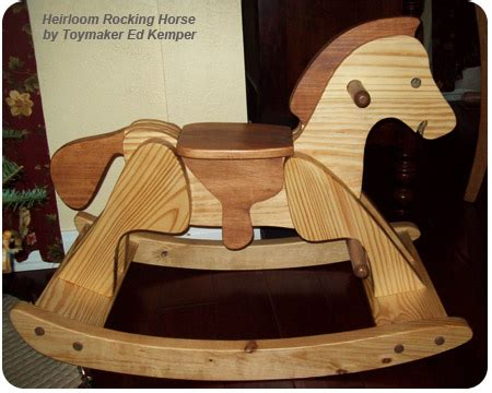 heirloom rocking horse plans  woodworking