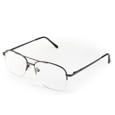 optx 20 20 aviator unisex reading glasses gunmetal