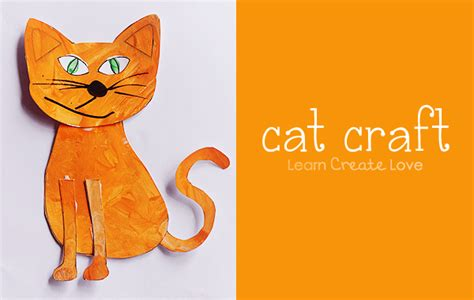 cat crafts for printable cat craft