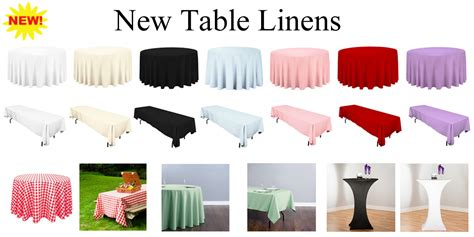 rental table linens magic jump rentals new products new rentals