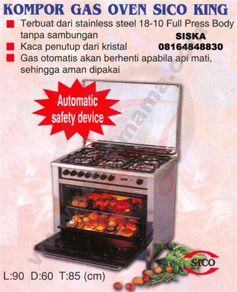 Daftar Oven Signora solusi kompor gas oven sico king
