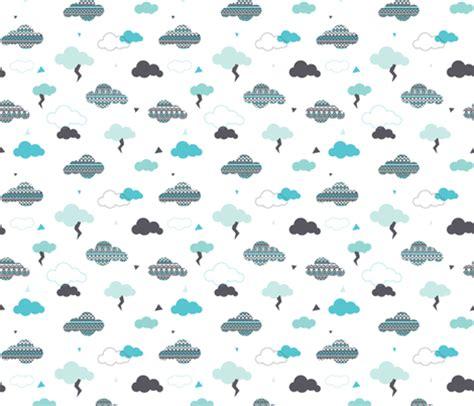 pattern blue sky geometric pastel aztec blue sky clouds thunder pattern