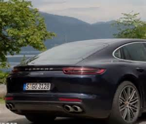 Porsche Blue Metallic 2017 Porsche Panamera 4s Diesel Blue Metallic And