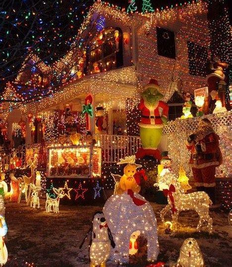 imagenes navideñas luces frentes de casas con luces navide 241 as