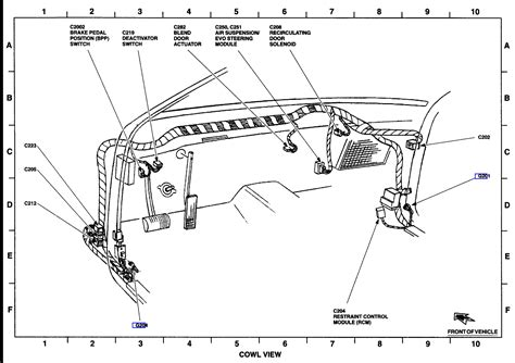 2003 lincoln navigator air suspension diagram air ride suspension keretalama at airbag wiring diagram