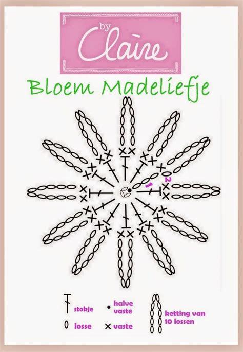 bloem haken patroon gratis 25 best ideas about gehaakte bloem patronen op pinterest