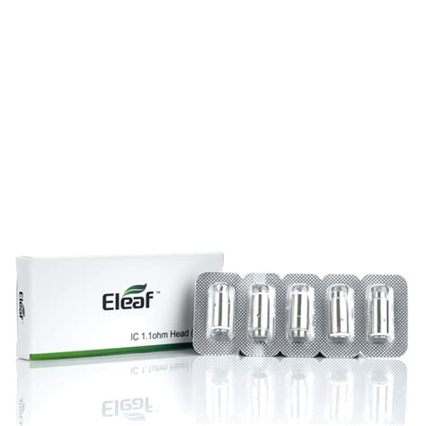 Eleaf Ic Atomizer Series Replacement For Icare Series eleaf icare ic replacement coils 5 pack east coast vape co