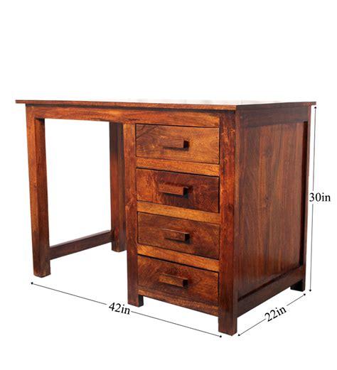 study table l olida mango wood study table by mudramark online study