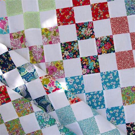 Nine Patch Quilt Blocks by Pepper Quilts 99 Nine Patch Blocks Quilts