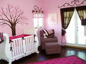 Decorate Nursery Pink Color Baby Room Ideas Decorate