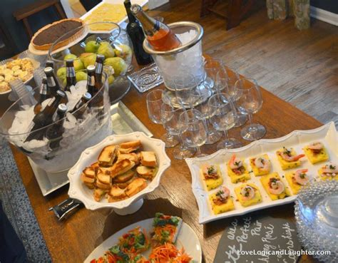 bridal shower appetizer menu pairing appetizers and food with wine for a couples