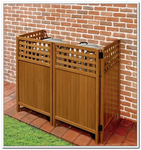 trash can cabinet outdoor ways to hide propane tanks google search for the home