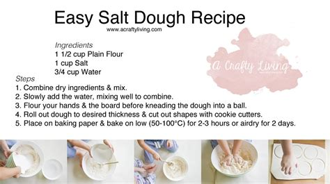salt dough ornaments recipe mothers day salt dough magnets with free recipe printable