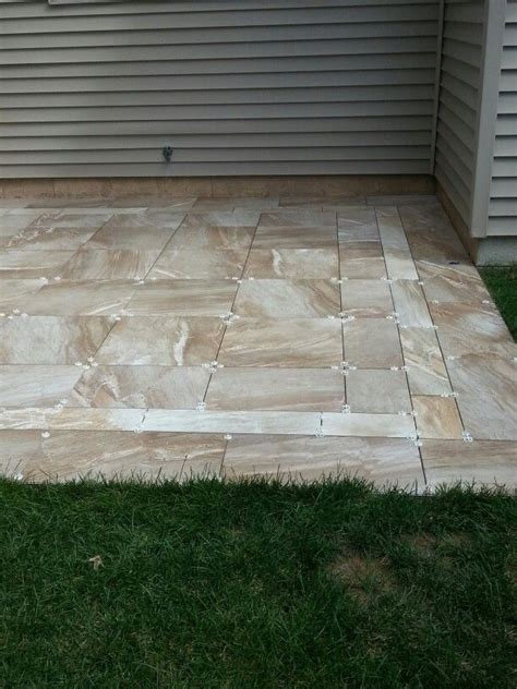 Patio Porcelain Tiles by 1000 Images About Update Patio Entry On