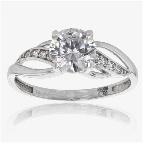 Wedding Ring Cubic Zirconia by Popular Cheap Wedding Rings For Newlyweds White Gold
