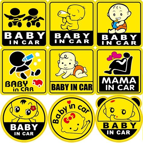 Aufkleber Baby Auto by Baby In Car Safety Car Stickers Elakiri Community