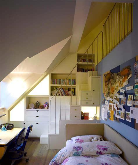 Charmant Idee Rangement Chambre Enfant #5: chambre-enfants-dans-les-combles.jpg