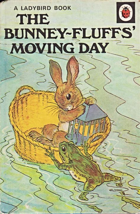 the animal rhyme books the bunney fluffs moving day ladybird book animal rhymes