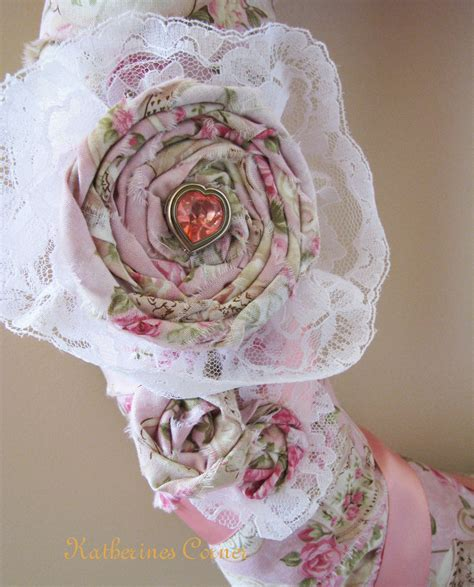 shabby chic wreath craft katherines corner