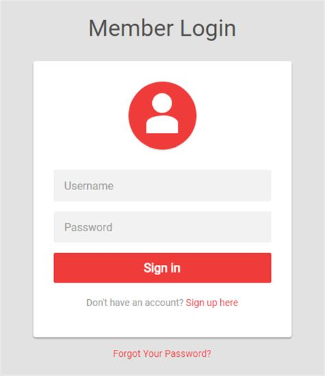 tutorial republic login bootstrap login form exles live demos codes