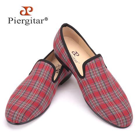 Handmade Shoes Scotland - piergitar 2017 new handmade scottish plaid fabric