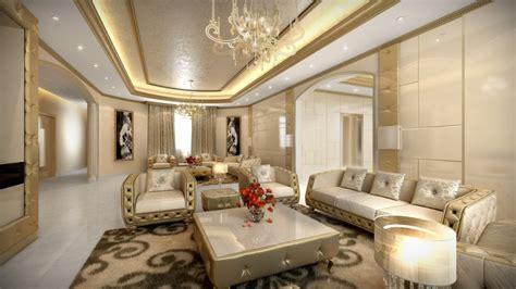 Suwaidi Private Residence Aristo Interior Design Luxurious Living Room Designs