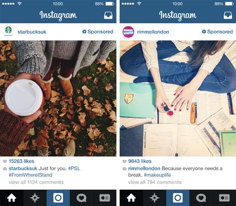 instagram ads arrive in the uk