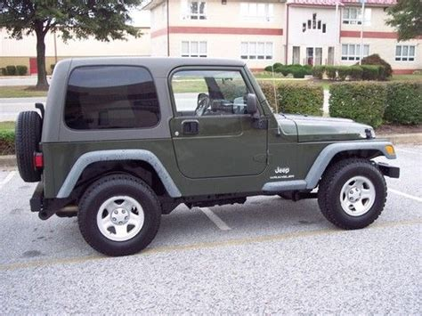 4cyl Jeep Wrangler Mpg Sell Used 2006 Jeep Wrangler Se 4wd Hardtop 4 Cylinder