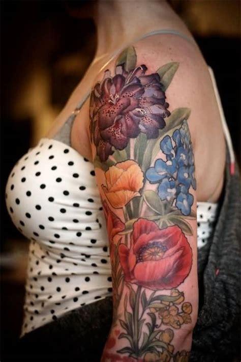 tattoo 3d flower 3d flower tattoo ideas and 3d flower tattoo designs page 4