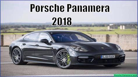 porsche panamera interior 2018 porsche panamera 2018 turbo review interior exterior
