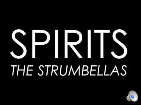 spirit testo the spirits