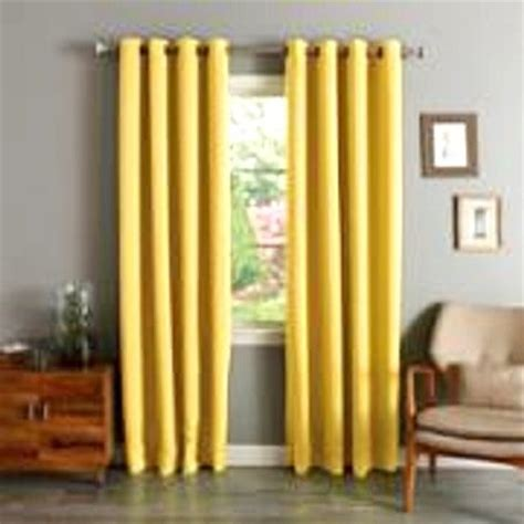 yellow black out curtains beautiful yellow mustard curtains sale ease bedding with