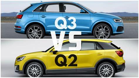 Vergleich Audi Q3 Und Q5 by 2017 Audi Q2 Vs Audi Q3 Youtube